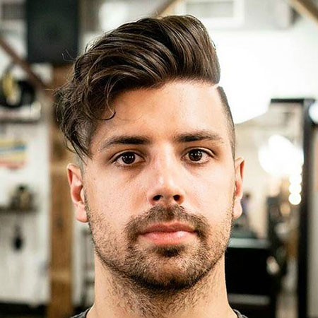 Best Hairtyle for Round Faces Men, Face Round Hairtyles All