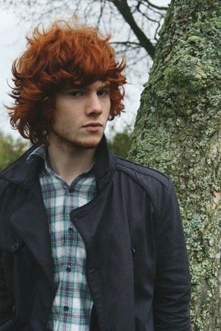 Guy with Red Hair, Boy Jamie Red Sam