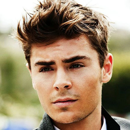 Male Celebrity Hairtyle, Celebrity Hairtyles Hair Efron