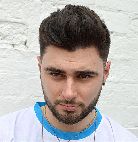 15 Mens Hairstyles for Round Faces - Mens Hairstyles 2020