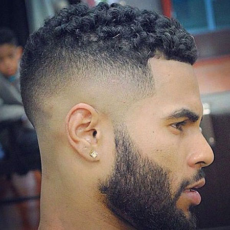 Black Haircuts Men Fade
