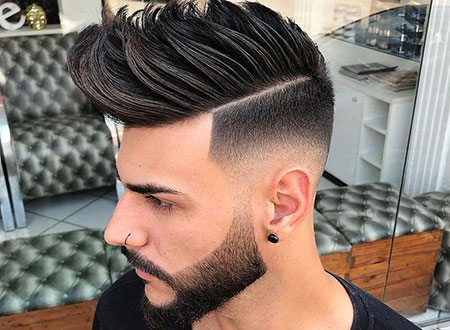 Medium Haircuts Fade Hair