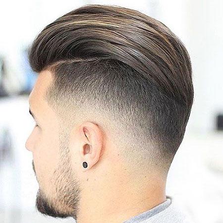 Fade Hair Back Undercut