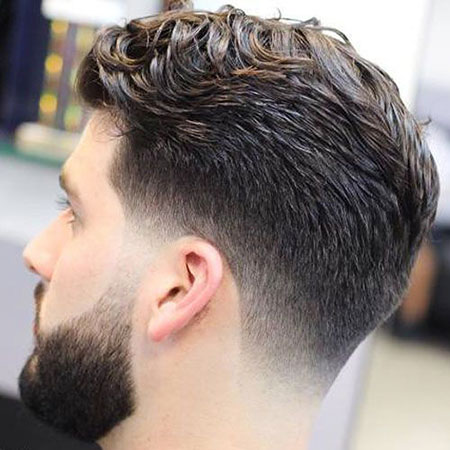 Fade Hair Low Taper