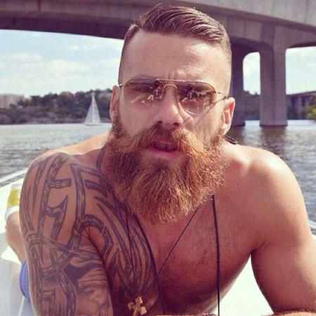Bearded Beard Barbs Skägg