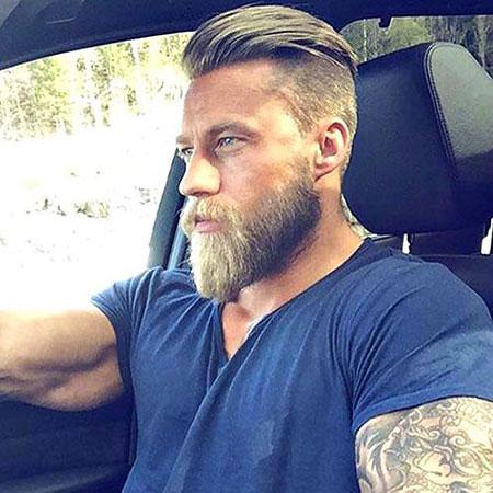 Beard Undercut Back Slick