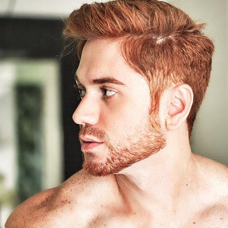 Red Guys Haircuts Hair