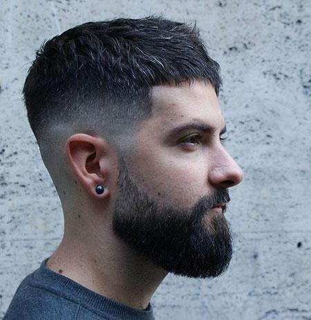 Short Fade Styles Beard