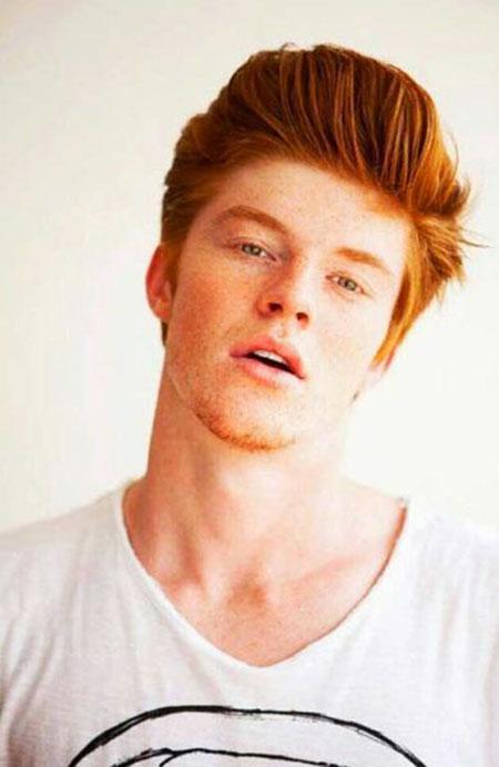 Ginger Guy Hair, Guys David Heads Red