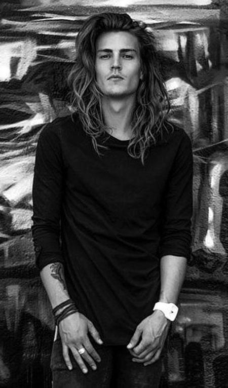 Long Jared Curly Natural