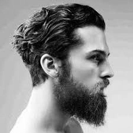 Hair Styles Beard Wavy