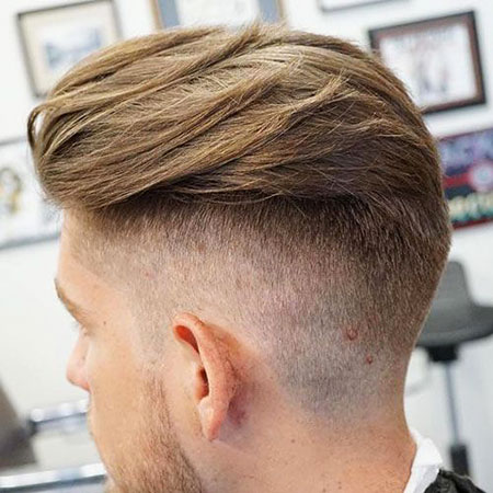 Hair Back Slick Undercut