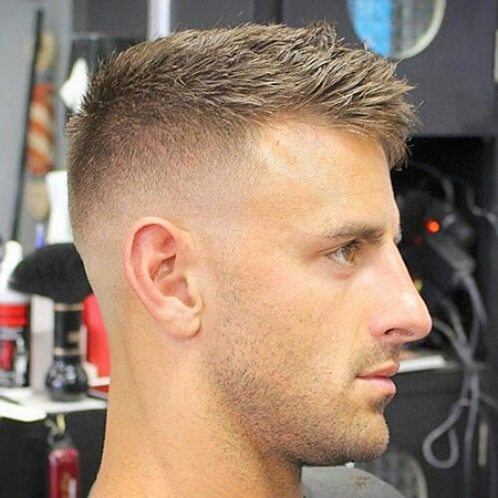 High Fade Haircut, Hair Fade Jensen Short