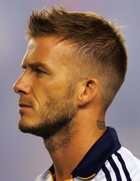David Beckham Haircut, Short Hair Haircuts Beckham
