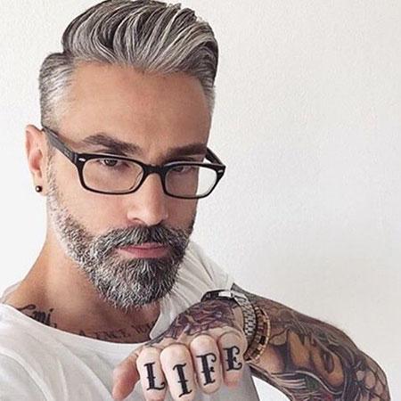 Beard Styles Barba Silver