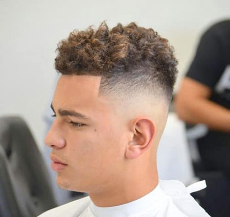 Fade Curly Hair 40