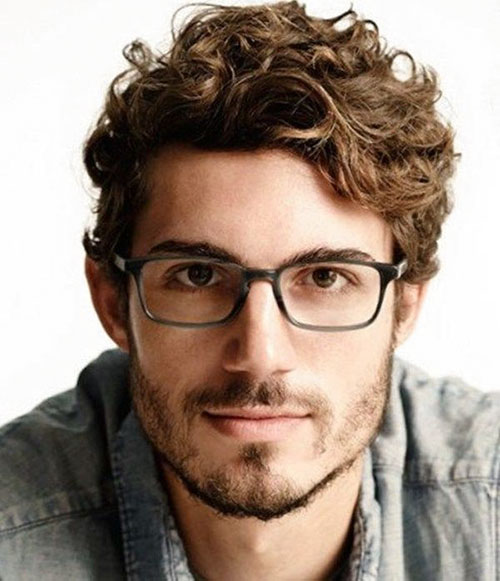 Haircut Styles For Curly Hair Male