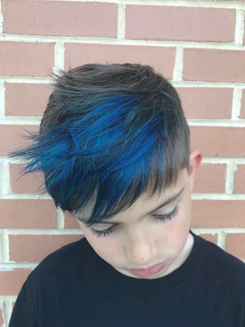 Hair Color Blue For Men