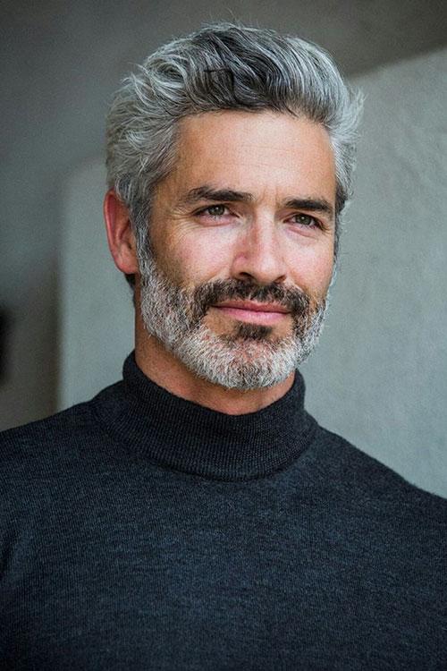 Grey Hair Color Men