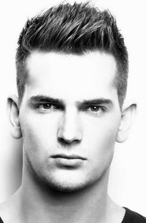 Oval Face Hairstyles Men