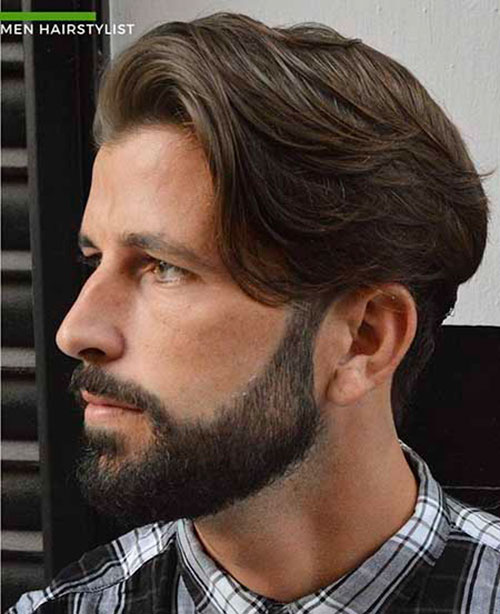Side Swept Hairstyle For Men