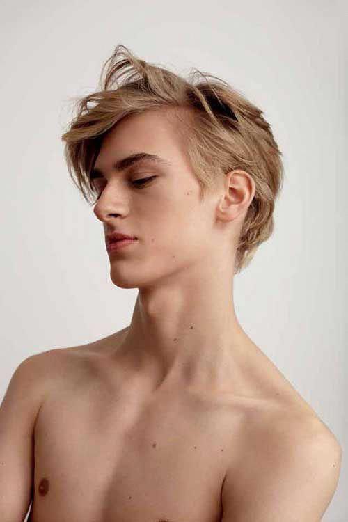Blonde Surfer Hair Male