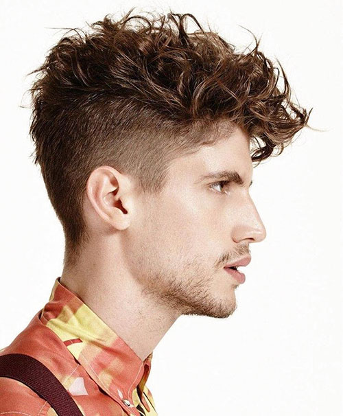 Hairstyles Curly Hair Male