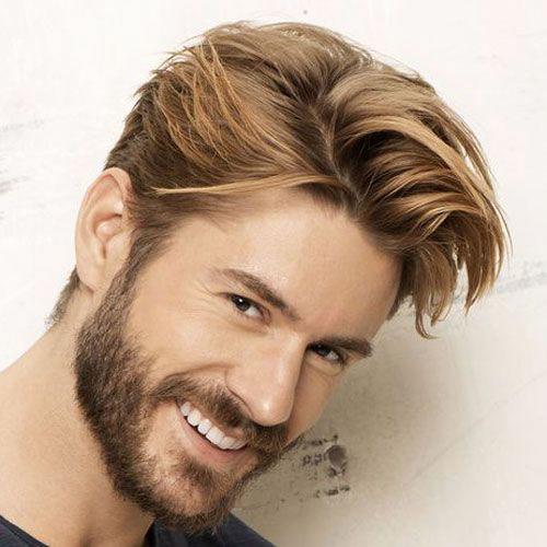 Blonde Hair Male