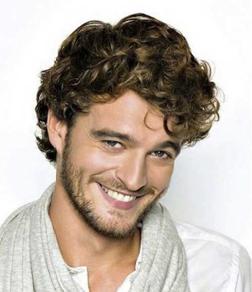 Tight Curly Hair Male