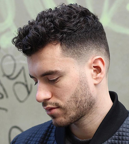 Male Haircuts With Curly Hair