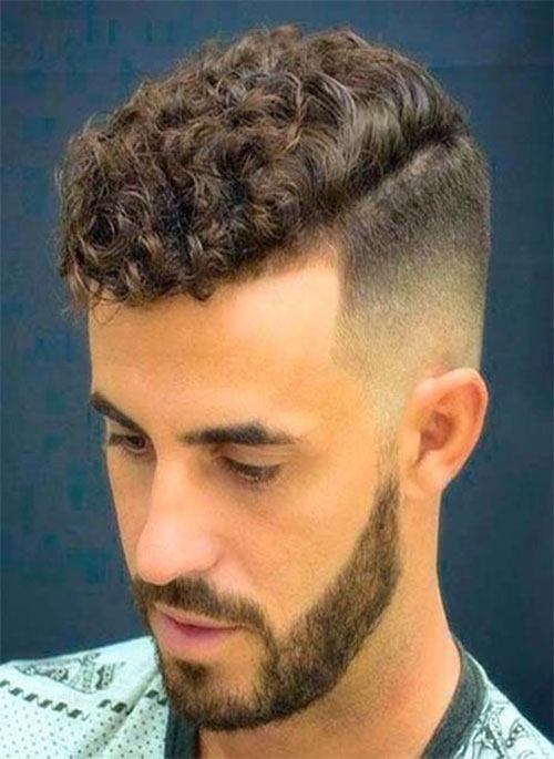 Male Curly Hairstyles