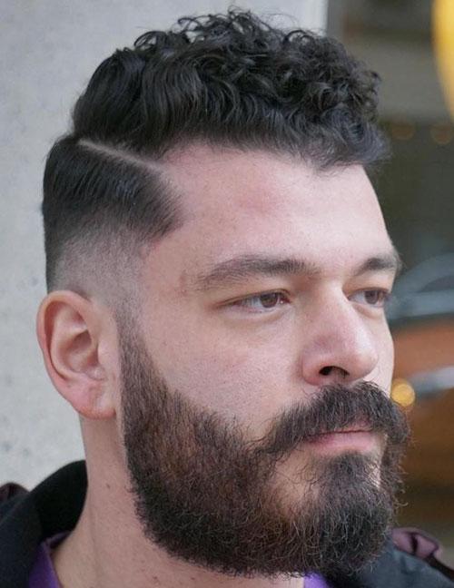 Haircut Curly Hair Male