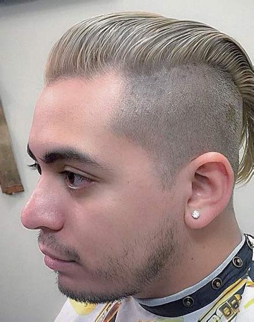 Slick Back Haircut Fade