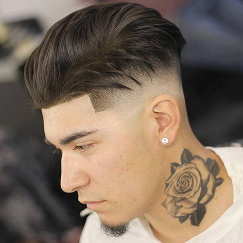 Fade Slick Back Hair