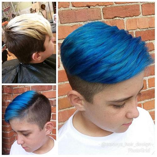 Blue Hair Men