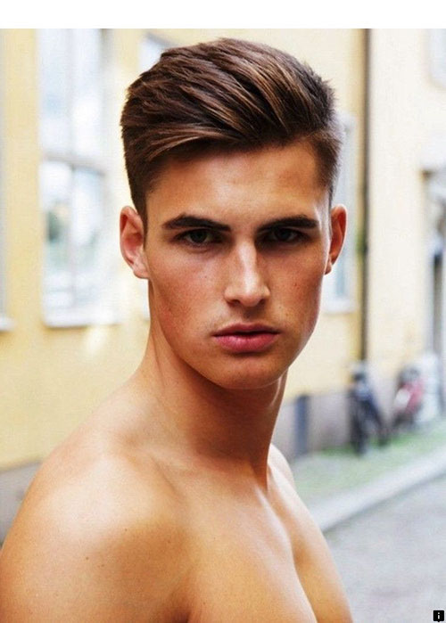 Hairstyle For Men With Oval Face